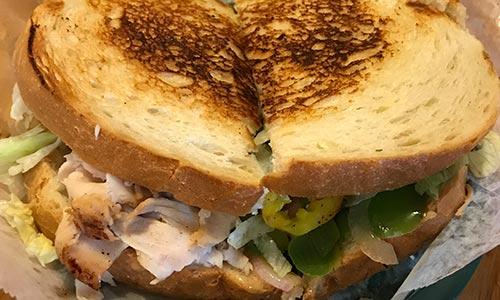 Turkey Italiano Sandwich