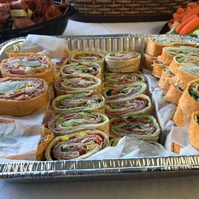 Assorted Pinwheels (Reuben, Italian, Turkey Caesar)